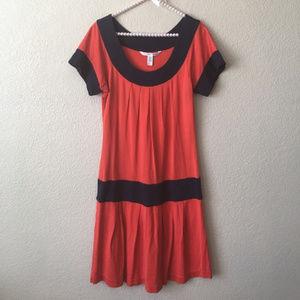 Diane Von Furstenberg  Silk Drop Waist  Coso Dress
